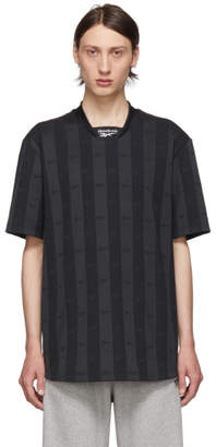 Reebok Classics Black and Grey CL V Jersey T-Shirt