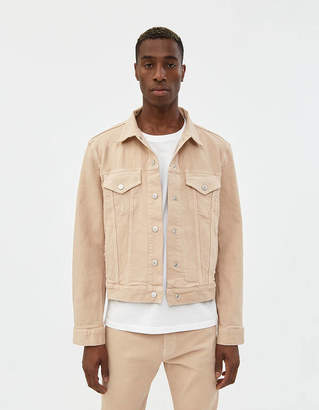 BEIGE Jeanerica Classic Denim Jacket in