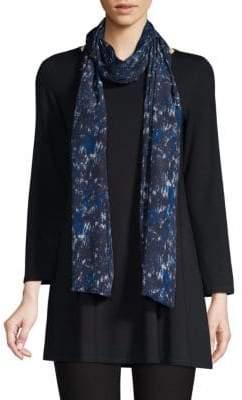 Eileen Fisher Silk Frayed Wrap