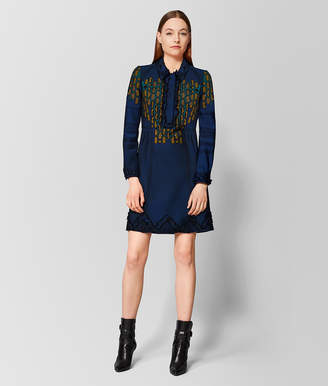 Bottega Veneta MULTICOLOR WOOL DRESS