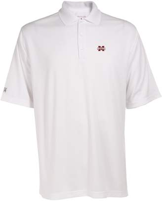 Antigua Men's Mississippi State Bulldogs Exceed Desert Dry Xtra-Lite Performance Polo