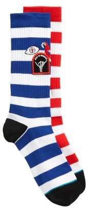 Stance Staycation Stripe Socks