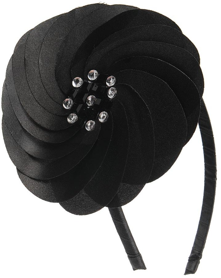 Forever 21 Pleated Flower Headband