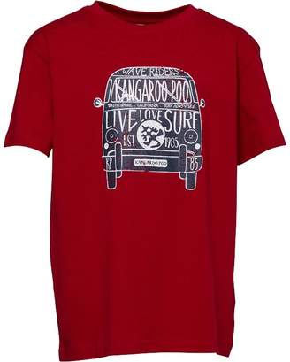 Kangaroo Poo Boys Printed T-Shirt Red