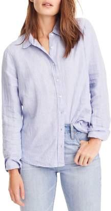 J.Crew Slim Perfect Cross Dyed Irish Linen Shirt