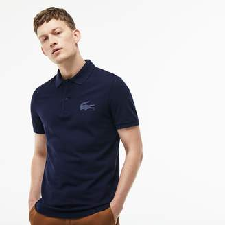Lacoste Men's Slim Fit Crocodile Logo Pique Polo
