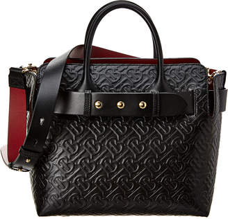 Burberry Small Triple Stud Belt Bag Monogram Leather Tote