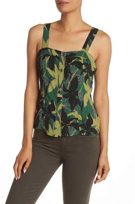 Abound Button Front Tank Top