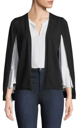 Kobi Halperin Brette Split-Sleeve Cardigan Sweater