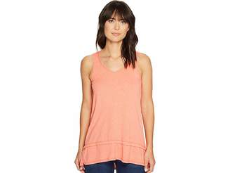 Mod-o-doc Heather Jersey Banded Tank Top Women's Sleeveless