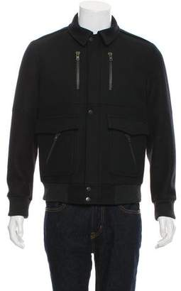 Surface to Air Wool-Cashmere Zip-Up Jacket