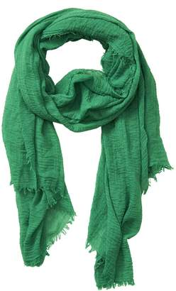 """Tickled Pink Classic Soft Solid Stylish Long Lightweight Pashmina-Like Cotton Blend Scarf 38 x 70"""""""