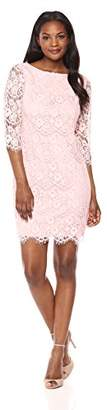 Jessica Howard Women's Lace Shift Dress