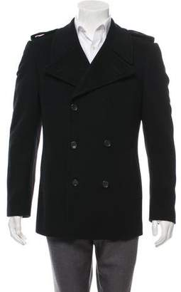 Gucci Wool Double-Breasted Coat