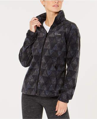 Columbia Benton Springs Printed Fleece Jacket