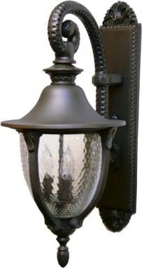 Alcott Hill Phillipstown 3-Light Outdoor Wall Lantern Alcott Hill