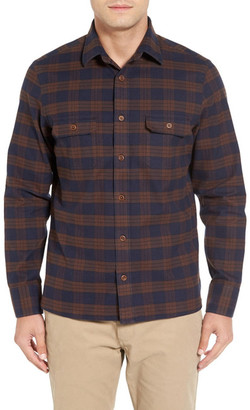 John W. Nordstrom Flannel Shirt Jacket $149 thestylecure.com