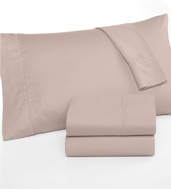 Martha Stewart Collection Twin Open Stock Fitted Sheet, 300 Thread Count 100% Cotton, Created for Macy's Bedding