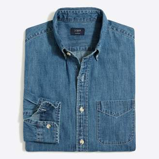 J.Crew Lightweight denim workshirt