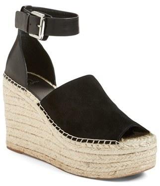MARC FISHER LTD 'Adalyn' Espadrille Wedge Sandal (Women) $159.95 thestylecure.com