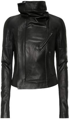 Rick Owens Sisy leather biker jacket