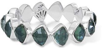 Stephen Dweck Faceted Green Quartz & Mother-of-Pearl Doublet Bracelet