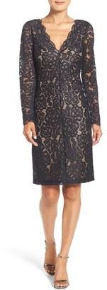 Vera Wang Lace Sheath Dress $258 thestylecure.com