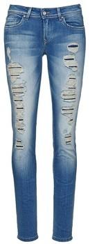Salsa SHAPE UP women's Skinny Jeans in Blue