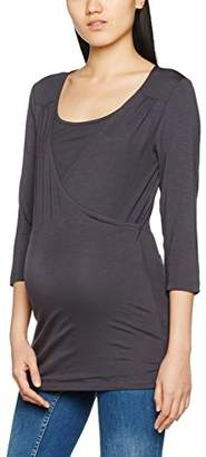 Mama Licious Mamalicious Women's Mllenny Petit Tess 3/4 Jersey NF A Long Sleeve Top,(Manufacturer Size: M)