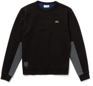 Lacoste Men's SPORT Water-Resistant Fleece Tennis Sweatshirt