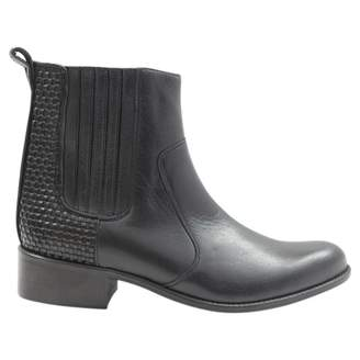 Roseanna Black Leather Boots