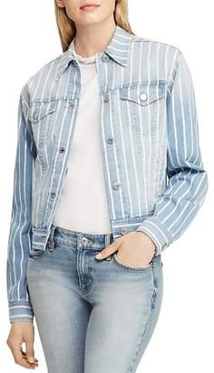 Ralph Lauren Stripe Denim Jacket