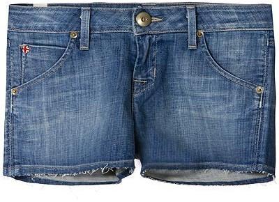 Hudson Jeans Amy Signature Raw Hem Shorts