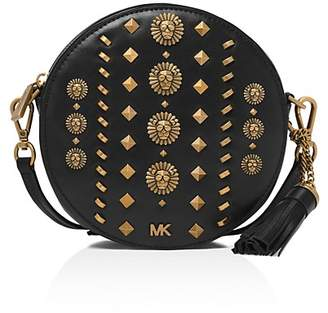 MICHAEL Michael Kors Medium Studded Leather Canteen Crossbody