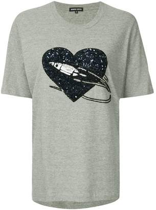 Markus Lupfer sequin-embellished T-shirt