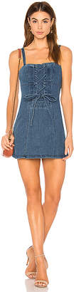 Finders Keepers Inverse Denim Dress.