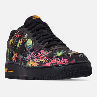 Nike Men's Force 1 '07 LV8 Floral Casual Shoes