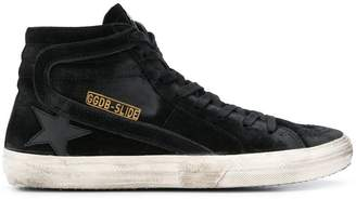 Golden Goose Slide hi top sneakers