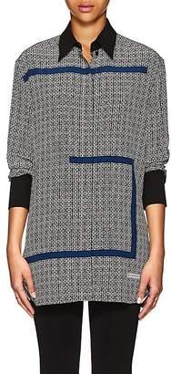 Givenchy Women's Logo-Pattern Silk Blouse