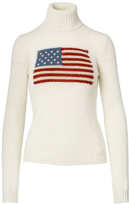 Ralph Lauren Flag Cashmere Turtleneck $1,490 thestylecure.com