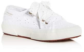 Superga x LoveShackFancy Women's Sangallow Low-Top Sneakers