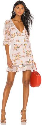 For Love & Lemons Isadora Mini Dress