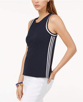 INC International Concepts I.n.c. Petite Striped Tank Top, Created for Macy's