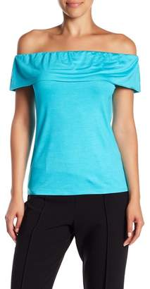 Trina Turk Prizma Off-the-Shoulder Blouse