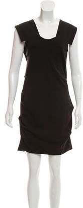 Yigal Azrouel Sleeveless Cutout Dress