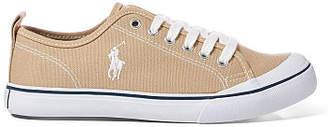 Ralph Lauren Karlen Canvas Low-Top Sneaker