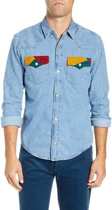 Levi's 1970s Slim Fit Denim Shirt