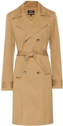 A.P.C. Alexis cotton trench coat