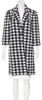 St. John Patterned Knit Coat $375 thestylecure.com