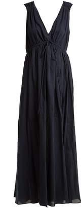 Sirena LOUP CHARMANT V-neck cotton dress